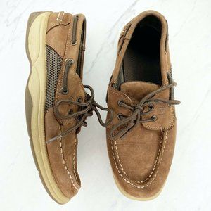 Sperry Intrepid Brown Loafers Boat Shoes Sneakers